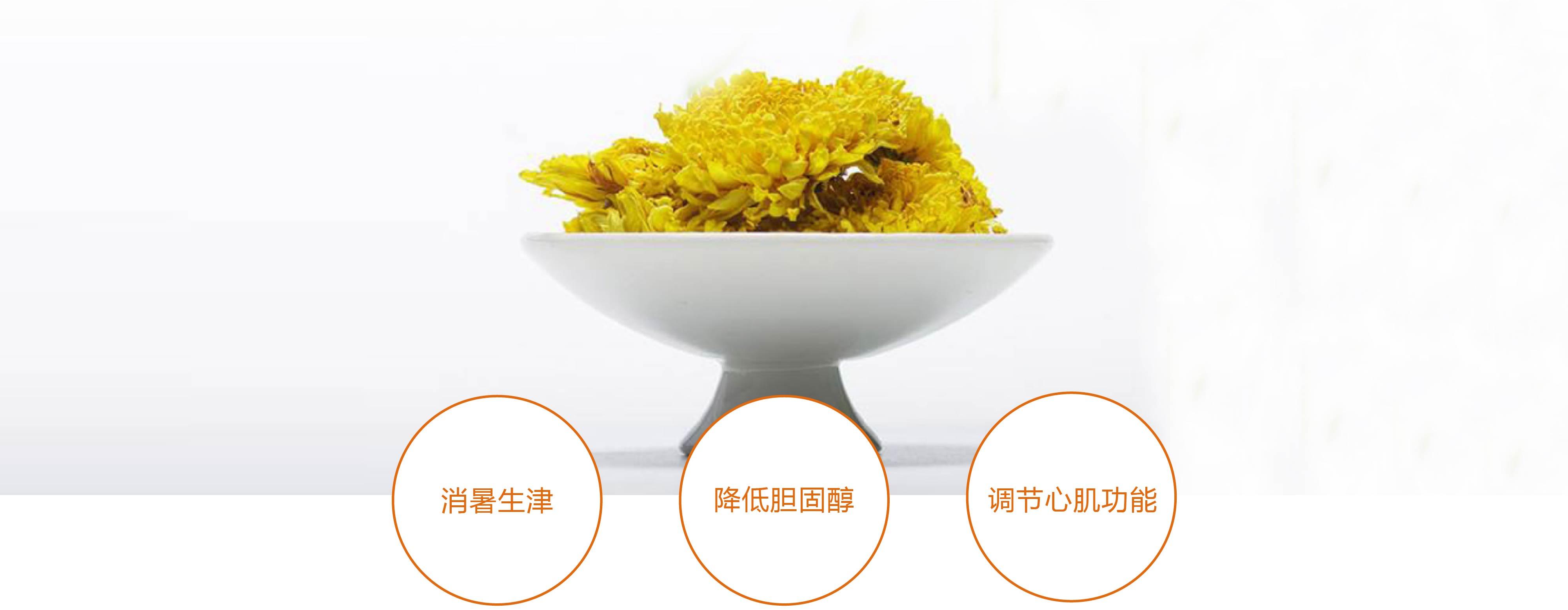 小产区奉新黄菊